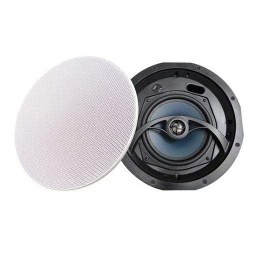 "Accento Accento 6.5"" Ceiling Speakers Pair Mica Cone with Edgeless Grill In-Ceiling Speakers"