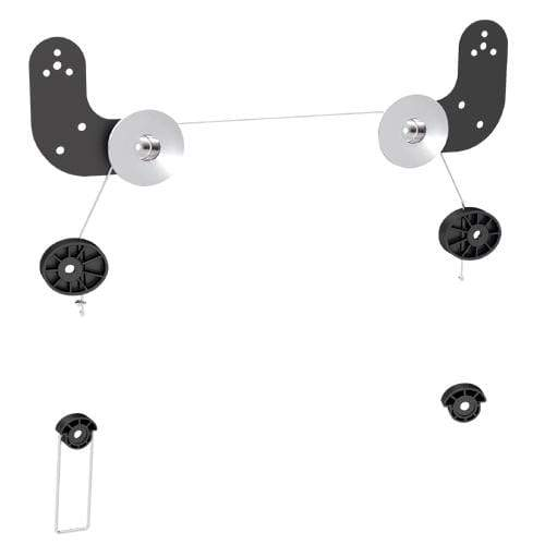 "Brateck Brateck Ultra Slim Wall Mount for LED & Thin LCD Screen Size 23"" – 60"" TV Wall Brackets"