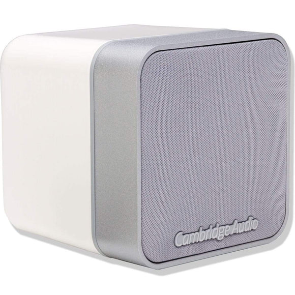 CamBridge Audio Cambridge Audio MIN12B Single Satellite Speaker BMR Drive - White Satellite Speakers