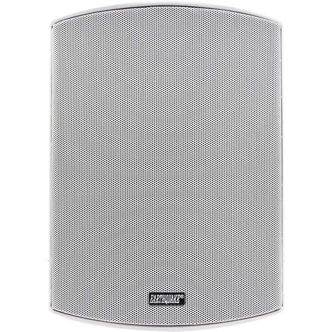 "Earthquake Earthquake 6.5"" Indoor/Outdoor Speaker Pair White - AWS602W Outdoor Speakers"