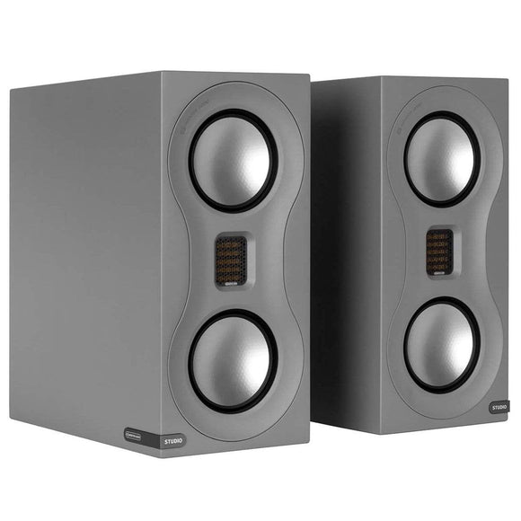 Monitor Audio Monitor Audio Studio Bookshelf Speakers + Optional Stands Book Shelf Speakers