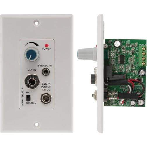 Pro2 Pro2 Audio Amplifier Wall Plate for In-Ceiling or Outdoor Speakers Components