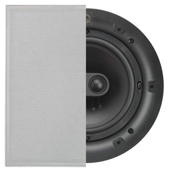 "Q Acoustics Q Acoustics QI-PRO-65S-ST-SQ  Professional 6.5"" In Ceiling Speakers Single Stereo Square Grill In-Ceiling Speakers"