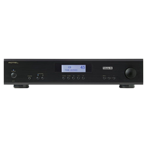Rotel Rotel A11 Tribute Integrated Amplifier Integrated Amplifiers