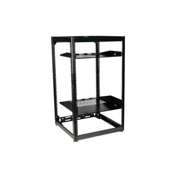 Sanus Sanus 20RU Flat-Pack Skeleton AV Rack Component Series - CFR1620 Hifi Racks & Stands