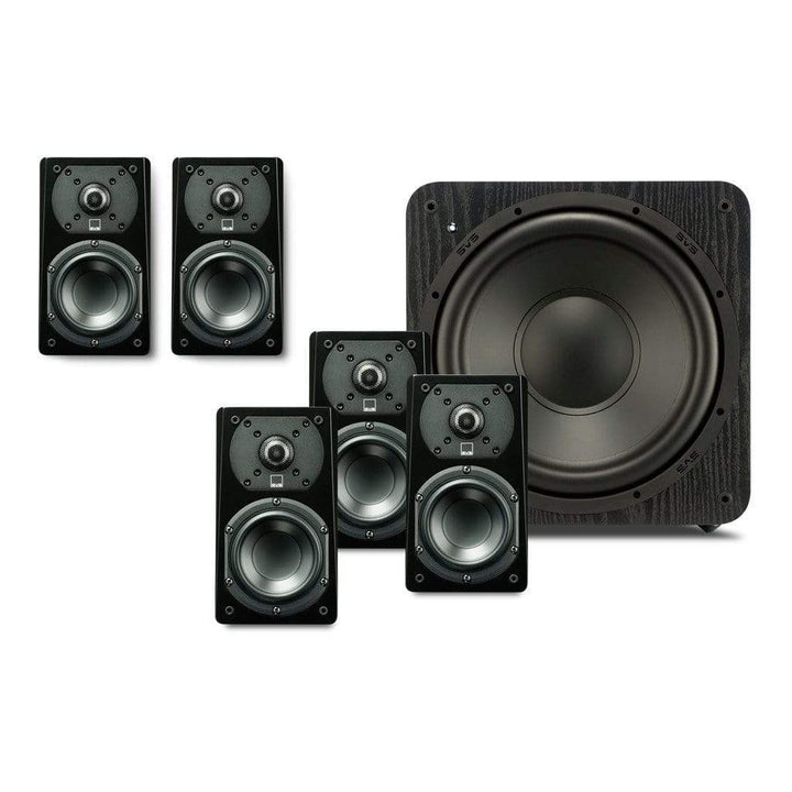 SVS Sound SVS Prime Satellite 5.1ch Speaker Package with SB1000 Subwoofer Speaker Packages