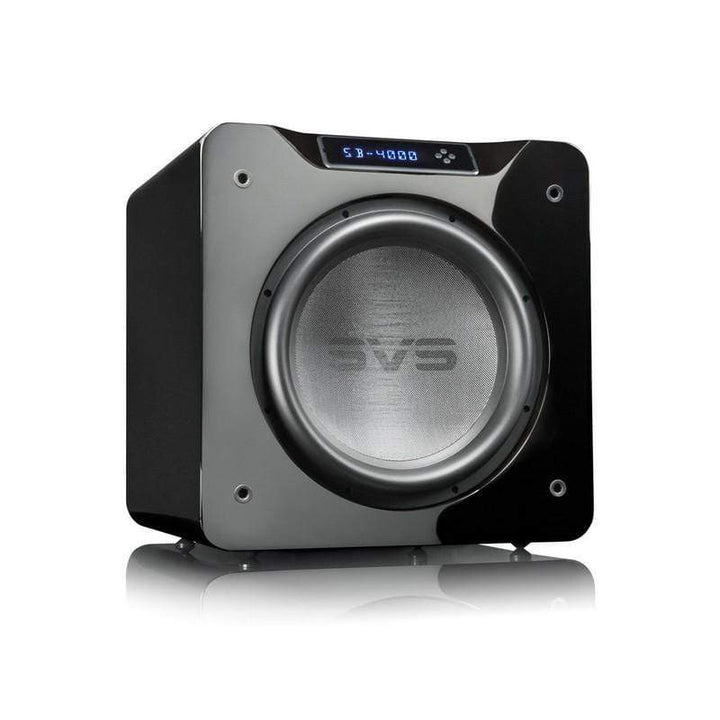 SVS Sound SVS SB4000 Sealed Subwoofer - Gloss Black Subwoofer