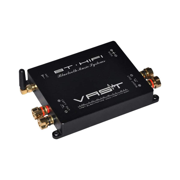 Vast V-BT100A Bluetooth Amplifier 2x45W RMS Stereo Wireless Audio Range 60m+