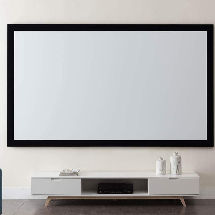 "Westinghouse Westinghouse 100"" Fixed Frame Projector Screen 16:9 Aspect Ratio Projector Screens"