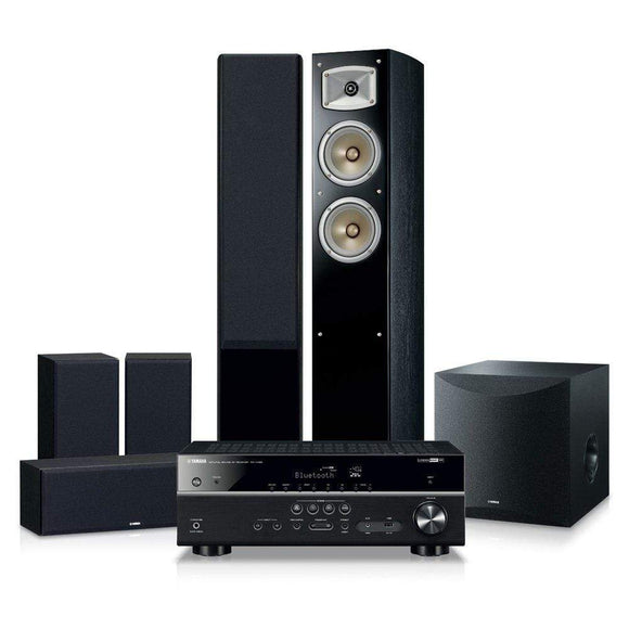 Yamaha Yamaha Blockbuster5500 Home Theatre Package with RX-V485 AV Receiver Home Theatre Packages