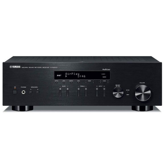 Yamaha Yamaha R-N303D Network Stereo Receiver with DAB+ Digital Radio Black Receivers & Amplifiers