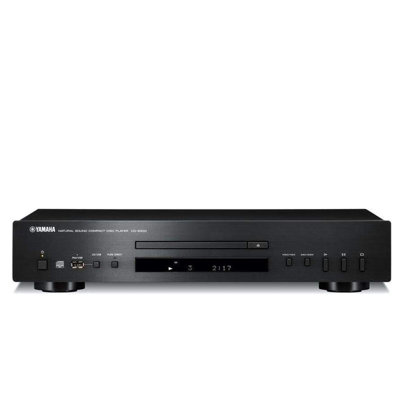 Yamaha Yamaha CD-S300 CD Player Black with Front USB and iPod Connectivity plays CD/MP3/WMA - CD-300B Source Units