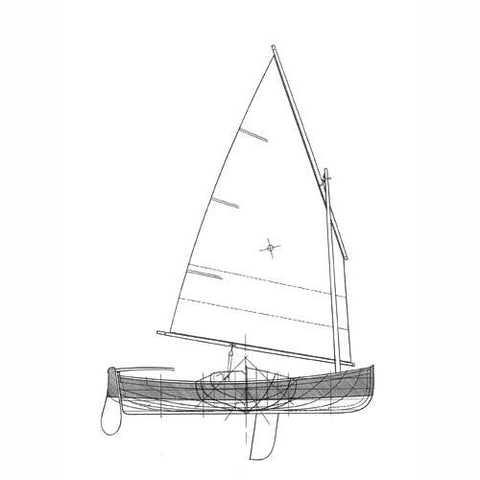12 ft Clinker Dinghy, Design #130