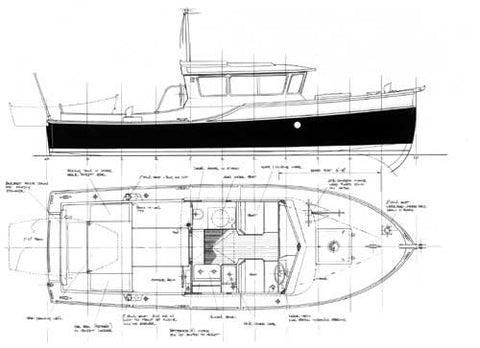 24 ft Motor Cruiser, Design #143