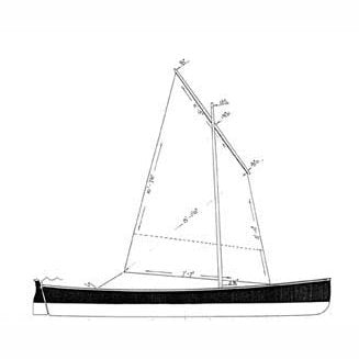 15 ft Light Rowing Skiff, Design #94