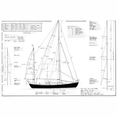 40 ft Yawl, Design #160