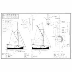 16 ft Centreboard Sloop, Design #161