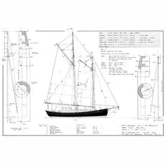 36 ft Schooner, Design #162