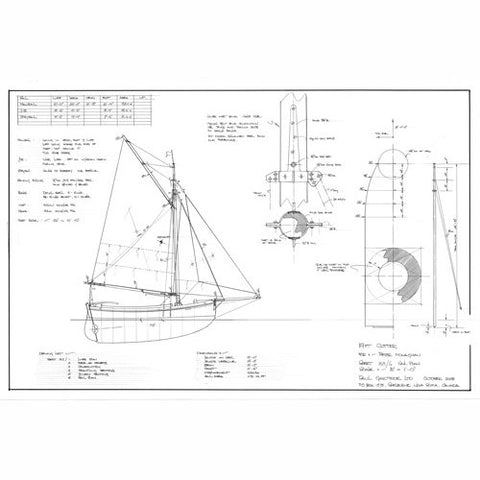 19 ft Cutter, Design #163