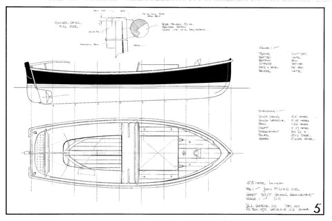 5.5 Metre Launch, Design #183
