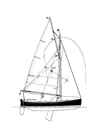 18 ft Centreboard Sloop, Design #139
