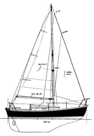 21 ft Masthead Sloop, Design #112