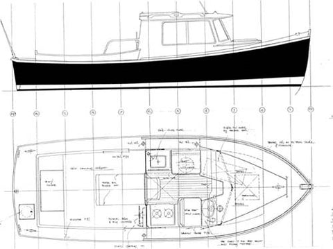 22 ft Cabin Cruiser, Design #73