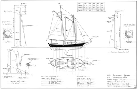 25ft Tancook Whaler Design #227