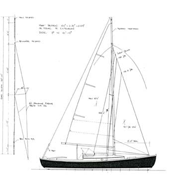 27 ft Cruising Canoe, Design #102