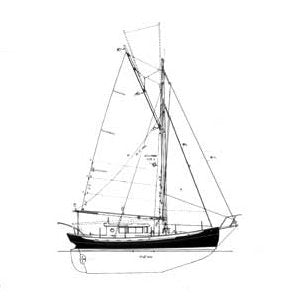 42 ft Motor Sailer, Design #129