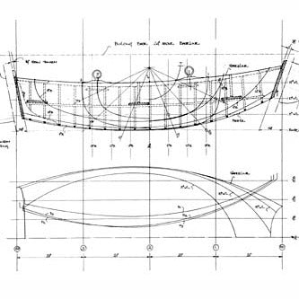 7 ft Clinker Pram Dinghy, Design #80