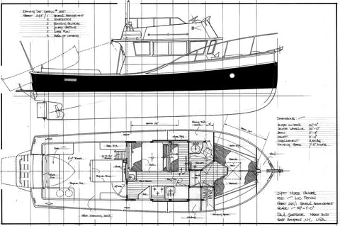 34ft Motor Cruiser Design #245