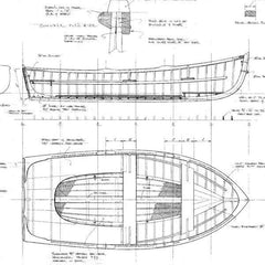 12 ft Outboard Skiff, Design  #169