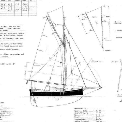 18 ft Cutter, Design #171