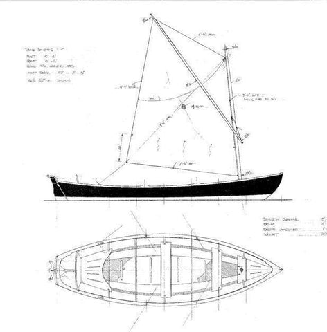 15 ft Shelburne Dory, Design #175