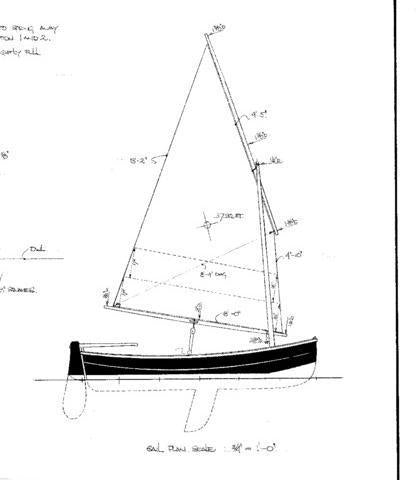 11 ft Plywood yacht Tender  Design #120