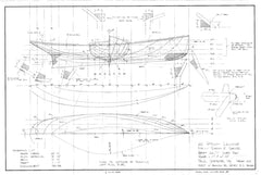 22 ft Steam Launch, Design #123
