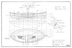 12 ft Double-Ended Rowboat, Design #126