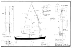 14tt Rowing/Sailing Skiff Dispatch, Design #096