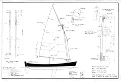 15 ft Rowing/Sailing Skiff, Design #147