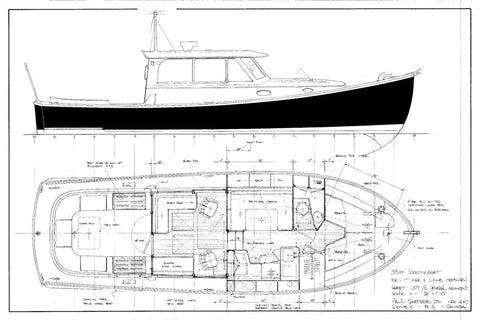38ft Lobsterboat, Design #159