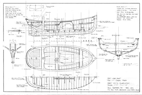 18 ft Workboat, Design #167