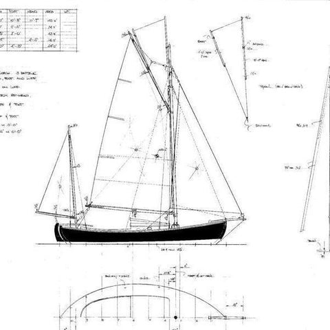 21 ft Koster Boat 'Sjogin'  Design #176
