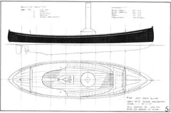 20ft Steam Canoe, Design #185
