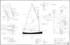 12ft Cat Boat C.F.A  Design #186