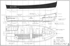 17ft Outboard Skiff, BOSON  Design #190