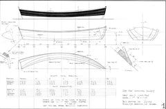 11 ft and 12 ft Flat-bottomed dinghies, Designs #201 and #202
