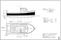 16 ft Outboard Runabout, Design #204