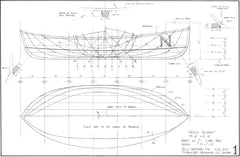 8ft Child's Rowboat, Design #211