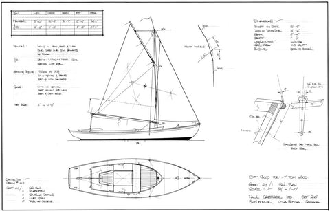 18ft Motor Sloop, Design #213